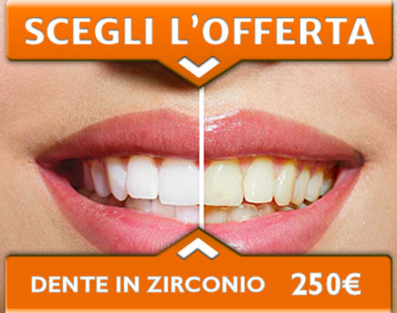 OFFERTA - DENTE IN ZIRCONIO, Dental Adriatic, Umago, Istria